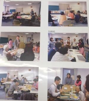 製本講座の写真