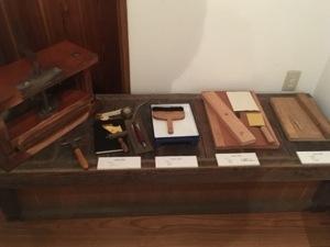 製本の道具たち